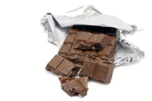 Vollmilchschokolade als Auslöser von Herpes